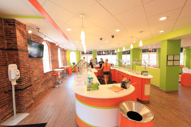 Orange Leaf Newburyport